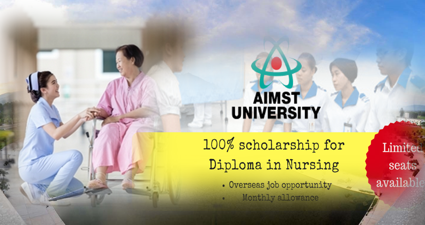 Biasiswa Diploma Kejururawatan AIMST University