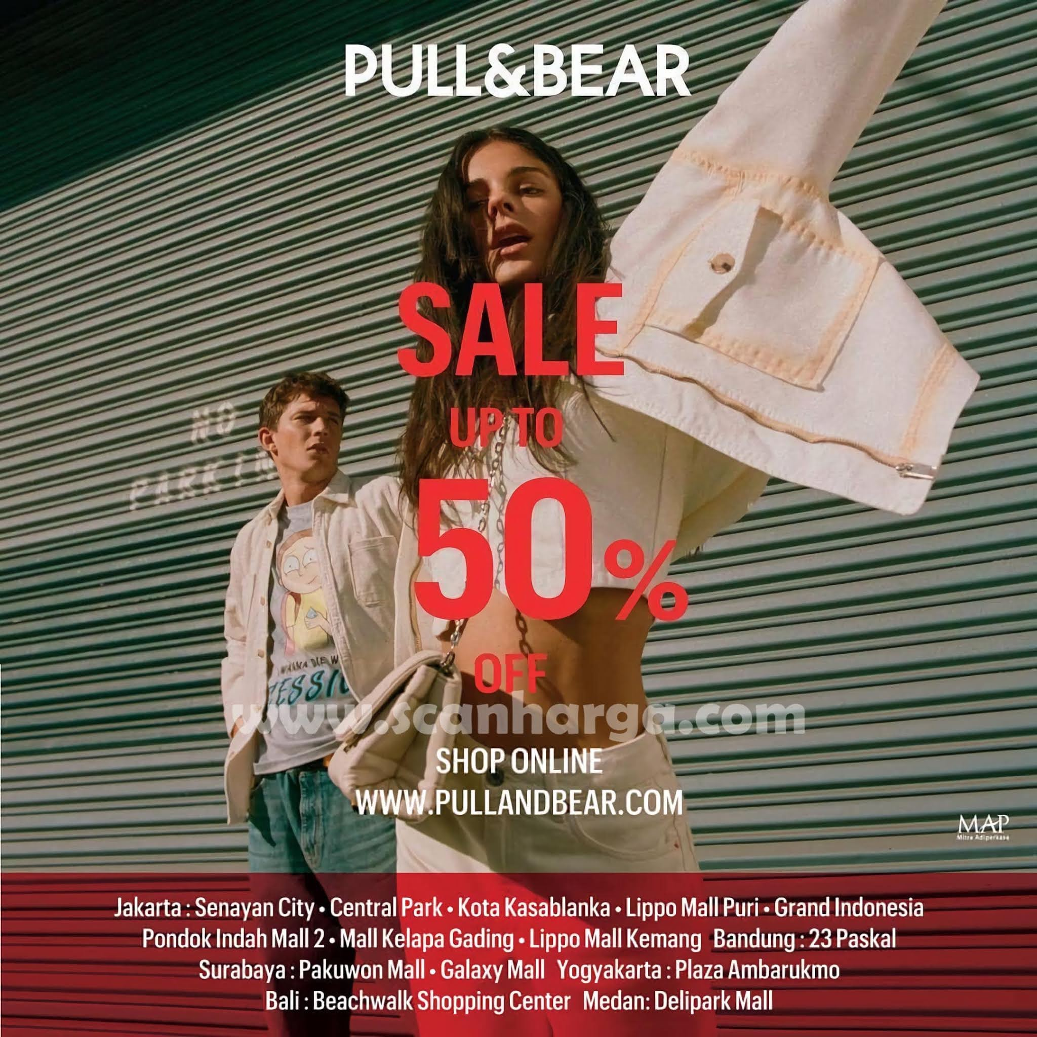 Promo PULL & BEAR SALE Up To 50% Off