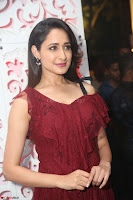 Pragya Jaiswal in Stunnign Deep neck Designer Maroon Dress at Nakshatram music launch ~ CelebesNext Celebrities Galleries 091.JPG