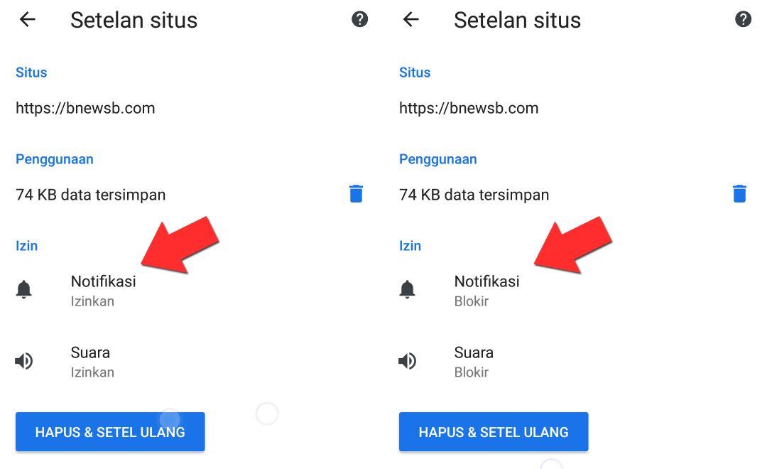 aplikasi google chrome menampilkan