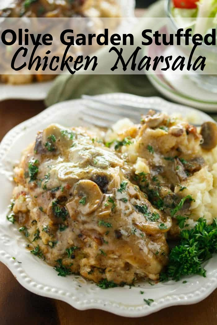 Olive Garden Stuffed Chicken Marsala Recipe - Dish and Cooking