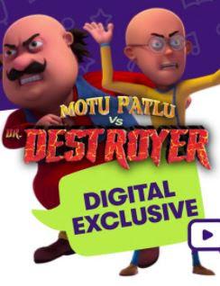 Motu Patlu Vs Dr Destroyer (2021) Hindi 720p | 480p WEB HDRip x264 550Mb | 200Mb