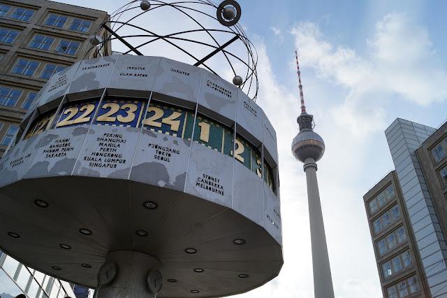 テレビ塔、アレクサンダー広場、ベルリン