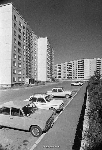 1980-е годы. Рига. Плявниеки. В новом жилом спальном районе