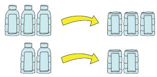Potonglah tiga buah botol plastik pada bagian atas dan bagian bawah www.simplenews.me