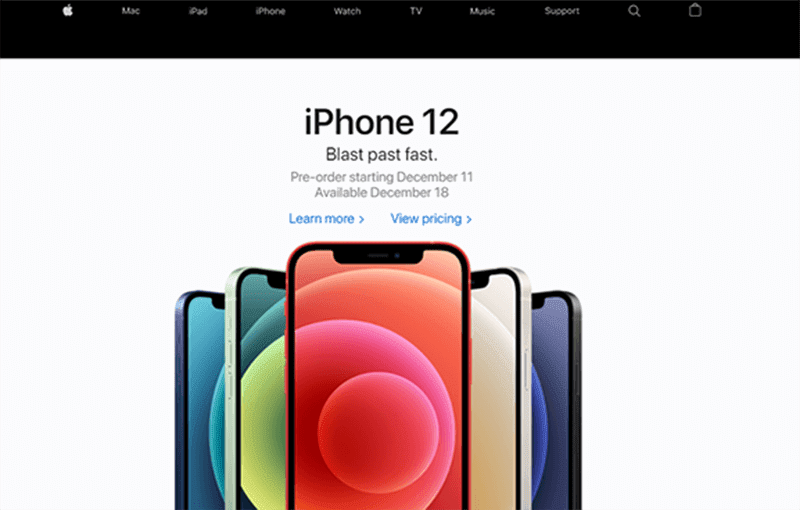 iPhone 12 series pre-order starts on December 11