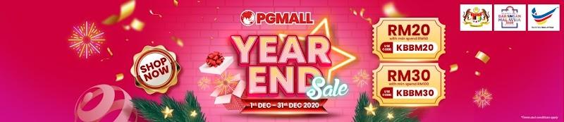 Year End Sales Dan Kempen Beli Barangan Malaysia Dengan PG Mall