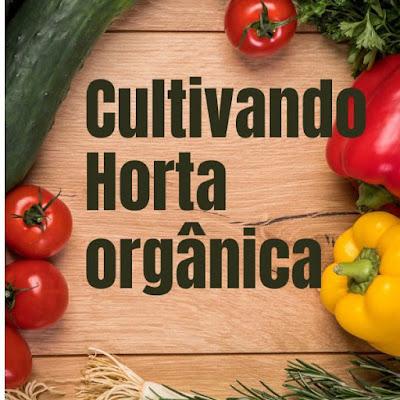 E-book Cultivando Horta Orgânica