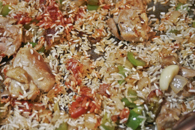 Chicken Rice Tomato Paste