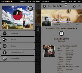 BBM Mod Grey Theme V3.0.1.25 Apk