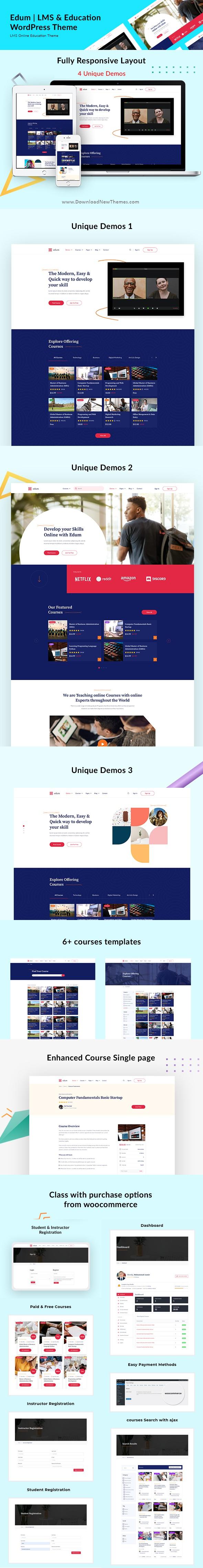 LMS & Education WordPress Theme
