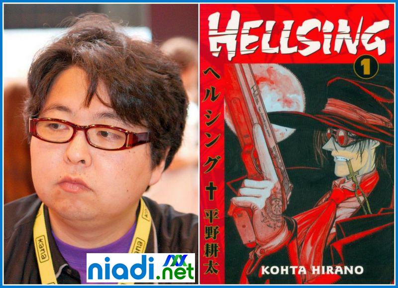 kouta hirano buku, kouta hirano manga list, coyote manga kouta hirano, alucard hellsing ultimate vol 1