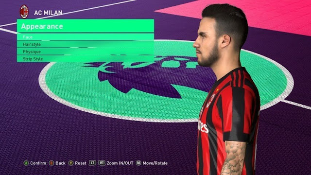 Suso Face PES 2017