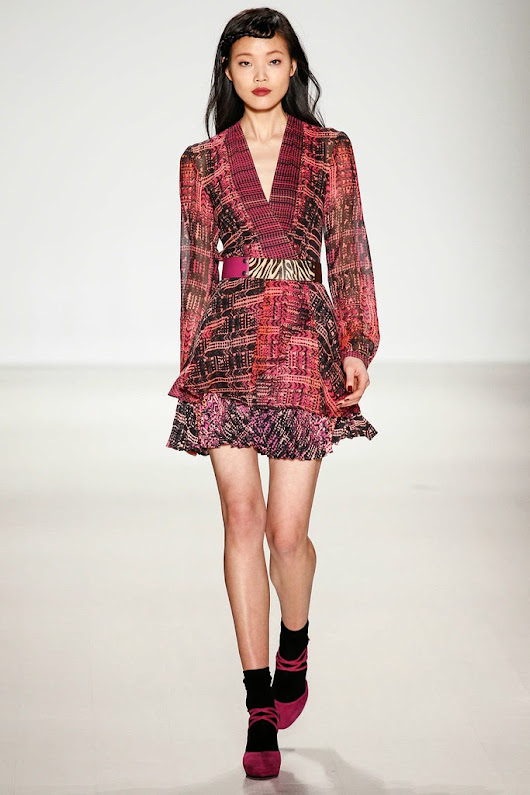 NANETTE LAPORE NEW YORK FALL/WINTER 2014/15