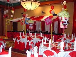 Festa com tema Circo