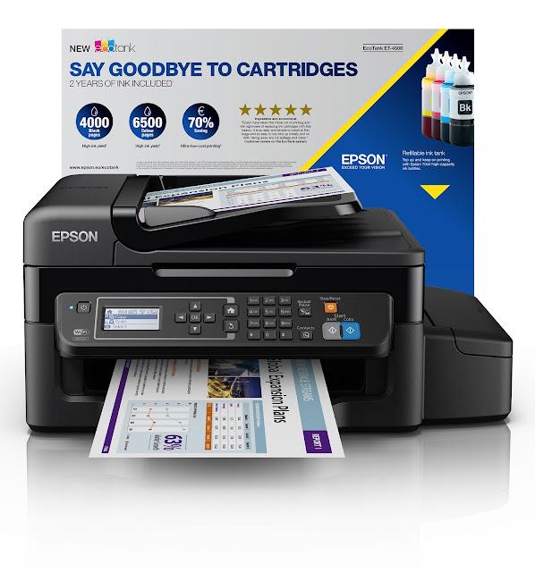 Epson EcoTank ET-4500 Printer Review