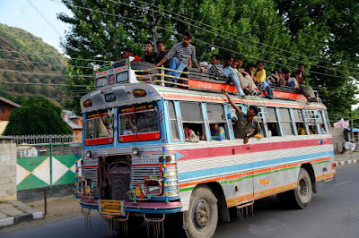 A Story of Bumpy Bus Rides of Himalayas   Ajaz Ahmad