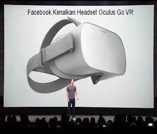 Facebook Kenalkan Headset Oculus Go VR