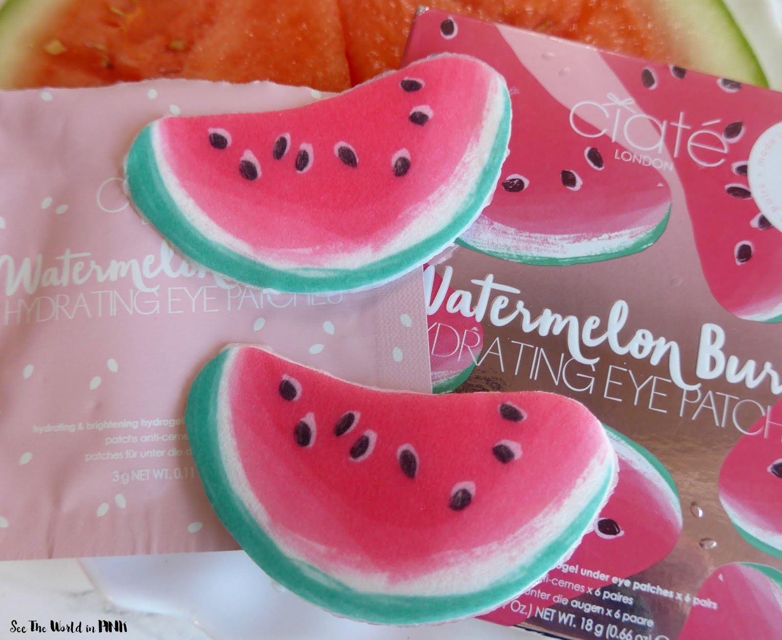 Skincare Sunday - Ciate London Watermelon Burst Hydrating Eye Patches
