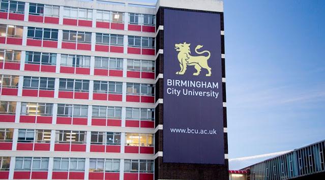 منحة الدراسات العليا الدولية في جامعة برمنغهام سيتي في المملكة المتحدة ، 2020