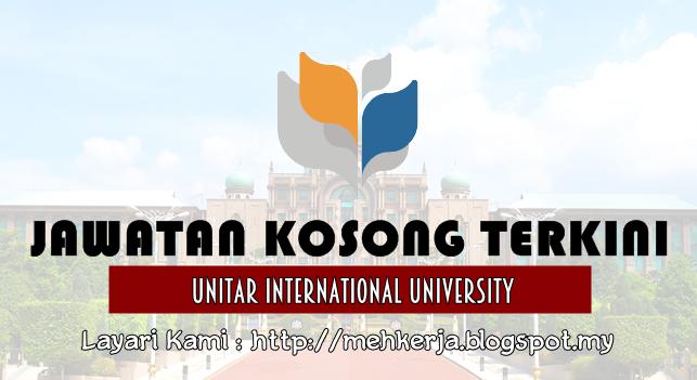 Jawatan Kosong Terkini 2016 di UNITAR International University