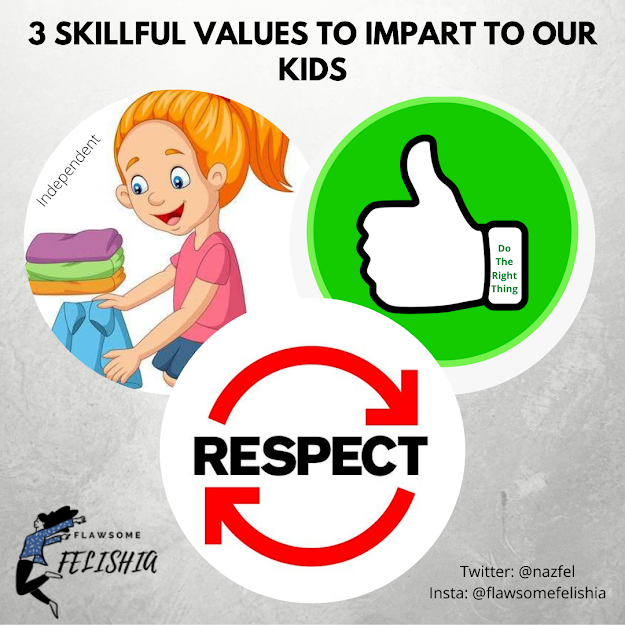 Skillful Values For Kids - INFOGRAPHIC