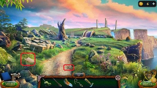 тропинка ведет к новой локации в траве манускрипт в игре затерянные земли 4 скиталец