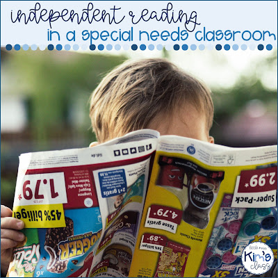 Independent Reading in Special Education