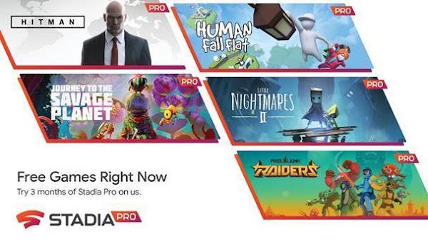 Lenovo torna-se a primeira empresa de PCs a anunciar uma colaboração de gaming com o Stadia Pro