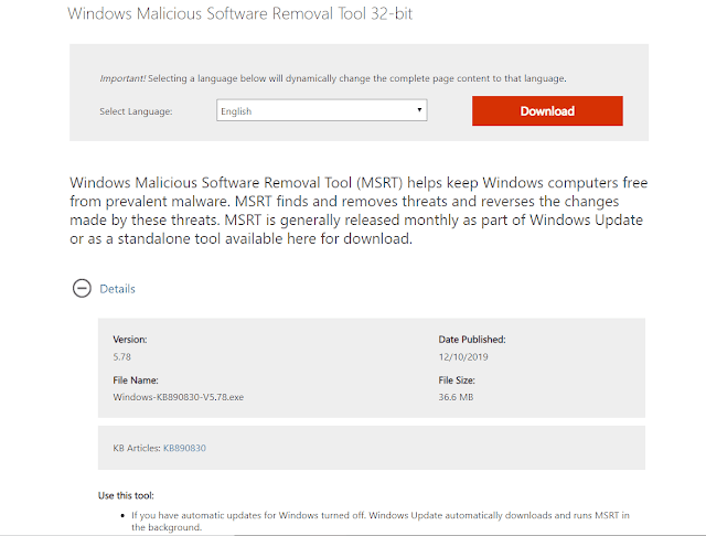 Microsoft%2BMalicious%2BSoftware%2BRemoval%2BTool