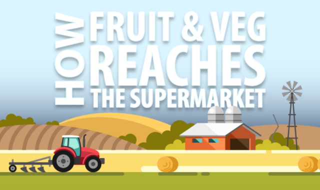 How Veggies and Fruits Reach the Supermarket