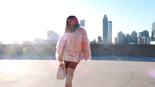 Natural Hair Blog: OUTFIT OF THE DAY: Pink Panther