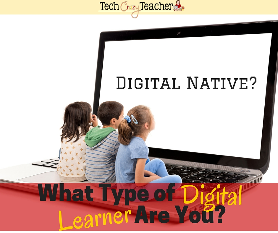 There are 4 different types of digital learners. They range from Digital Foreigners to Digital Natives. Each has a unique way of looking at the world of technology. Learning what category you are in will help you know what you have to do to move up on the technology continuum.