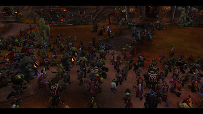 Horde pays tribute to Saufang
