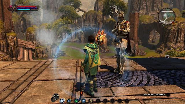 Kingdoms of Amalur: Reckoning - большая женщина из DLC