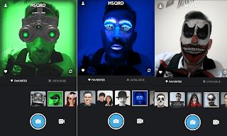 تطبيق MSQRD لتغيير الوجه للاندرويد الجديد 2020