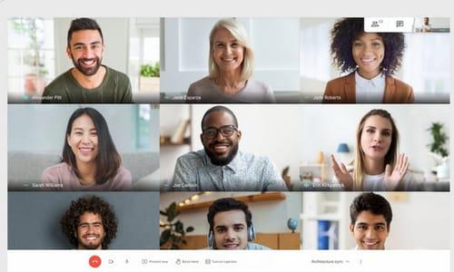 Unlimited Google Meet calls will run through June