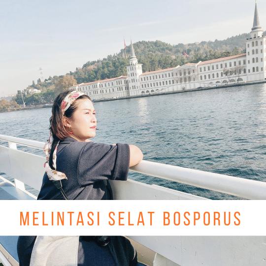naik ferry di selat bosporus