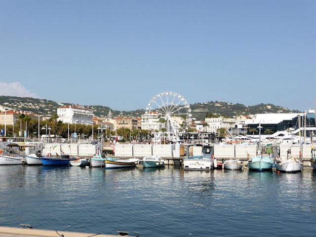 Cannes, vista Quai St Pierre