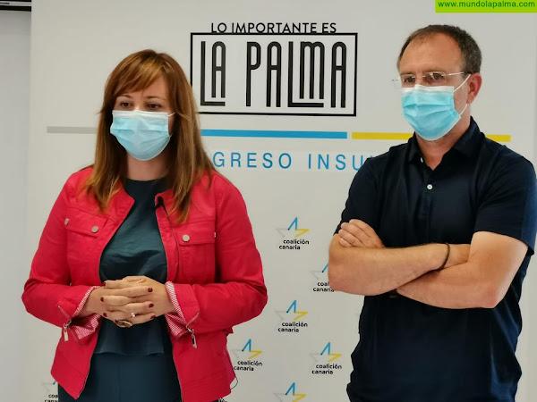 Nieves Lady Barreto revalida su cargo como secretaria general de CC La Palma con el 99 por ciento de apoyo