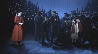 Mary Poppins and Chimney Sweeps Broadway Disney Plus