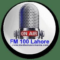 FM Radio 100 Lahore Pakistan Live Online