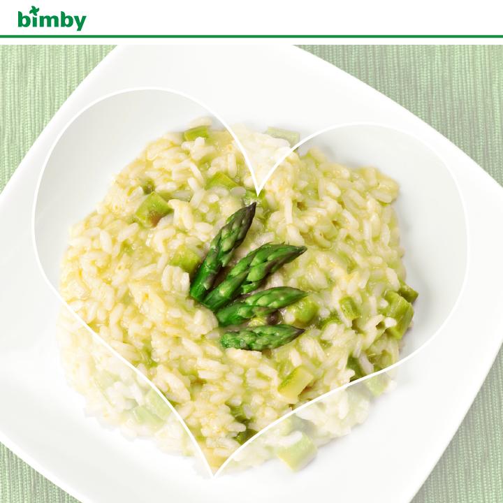 Risotto agli asparagi con il Bimby TM5