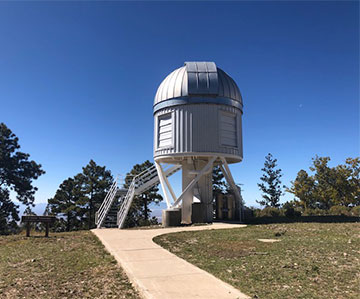 0.5-meter Astrophysical Research Consortium Small Aperture Telescope (Source: Palmia Observatory)