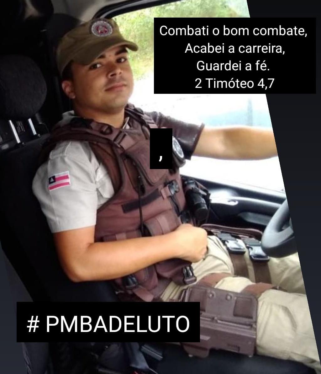 policial militar morre durante troca de tiros com bandidos fortemente armados na Bahia