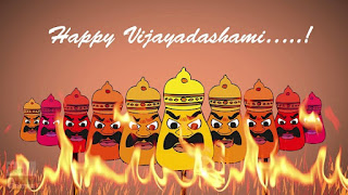 Happy Dussehra WhatsApp GIF Images