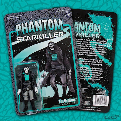 Phantom Starkiller Air Apparition Edition ReAction Figure by Killer Bootlegs x Super7