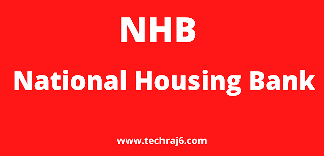 NHB full form, What is the full form of NHB