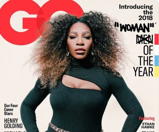 Tennis star, Serena Williams named GQ's Woman of the Year