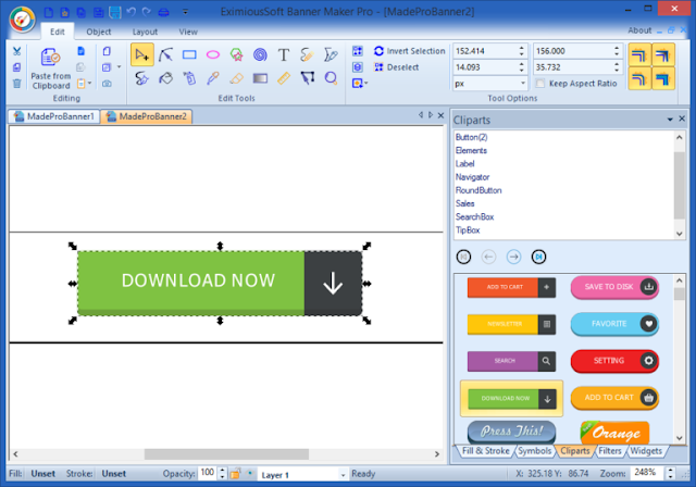 EximiousSoft Banner Maker Pro 5.48 + Crack - Công cụ thiết kế banner